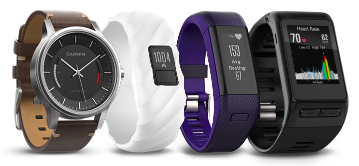 garmin activity trackers and smartwatches
