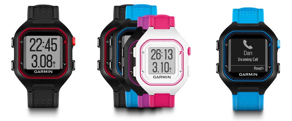 Review for the Garmin Forerunner 25 - Key Features