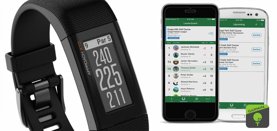 garmin approach x10 with golf app