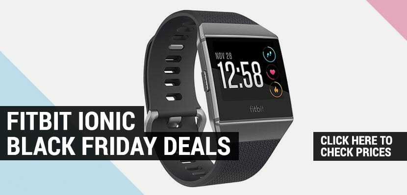 best fitbit ionic black friday deals