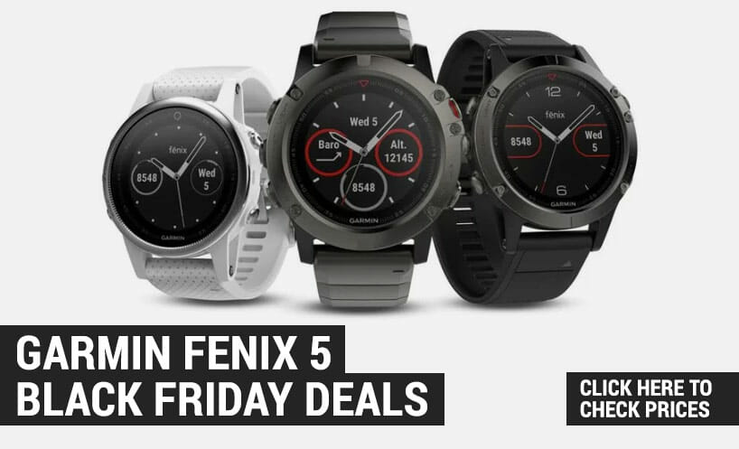 garmin fenix 5 black friday deals
