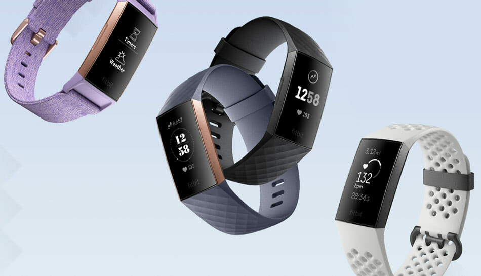 Fitbit Charge 3 – best heart rate activity tracker