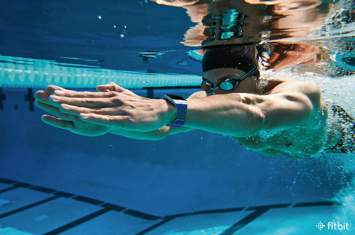 fitbit ionic for swimming