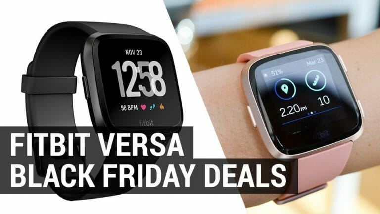 shop for the best fitbit versa black friday cyber monday deals