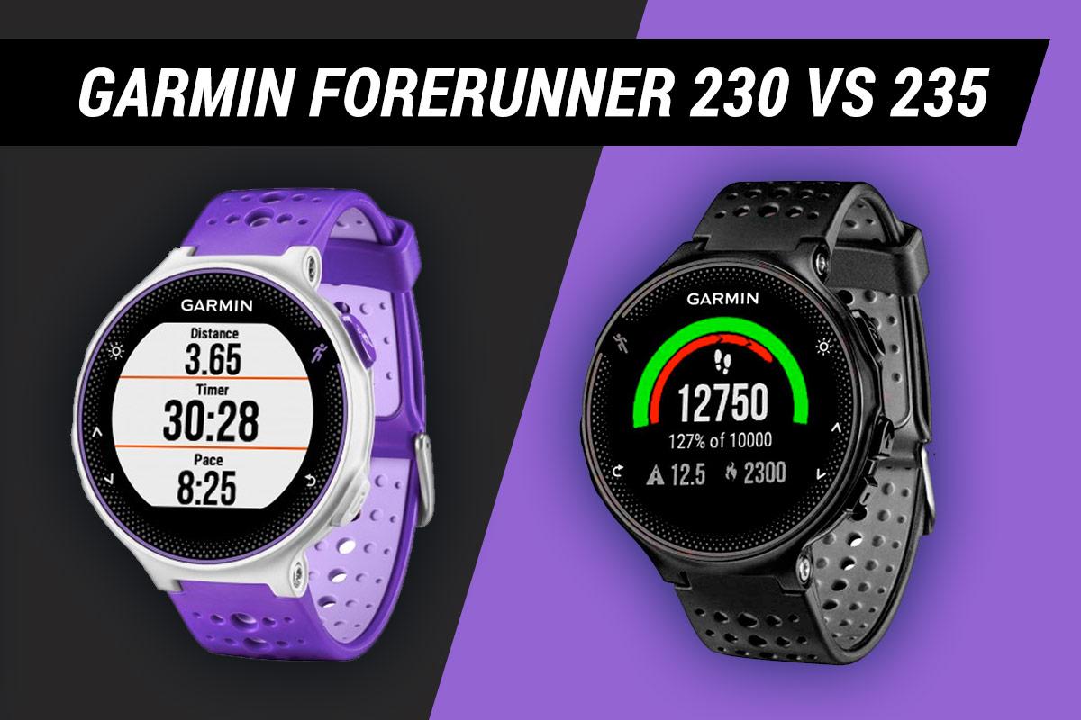 Garmin Forerunner 235 vs 230