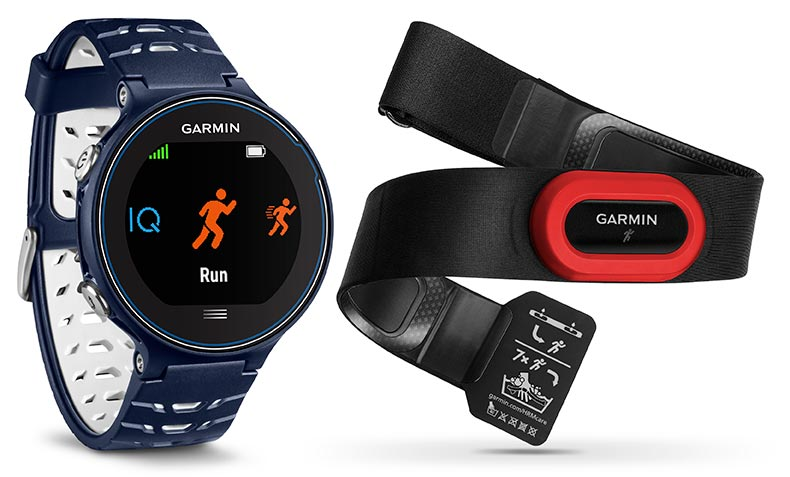 Garmin Forerunner 630 paired with HRM-Run