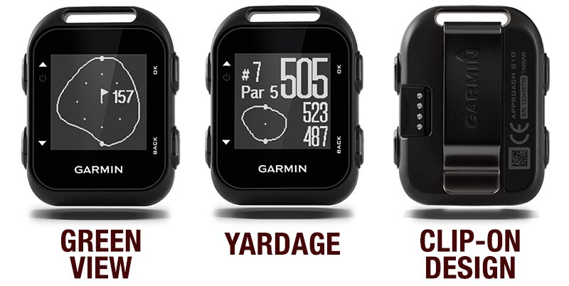 Garmin Approach G10 Review Features