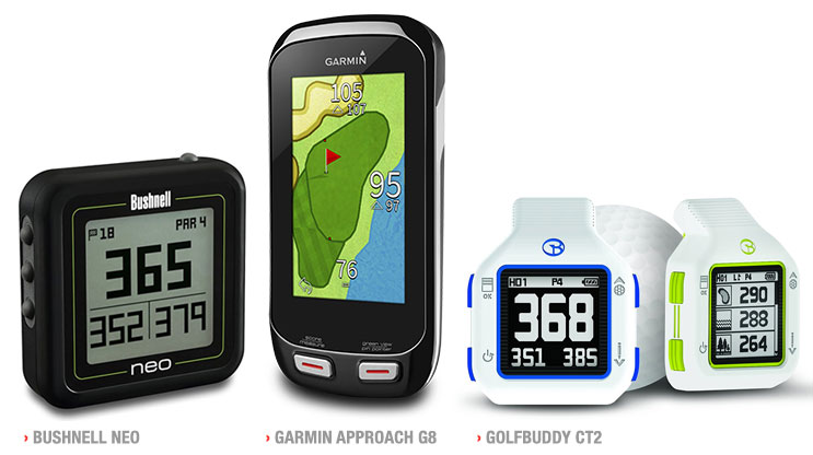 Garmin's Approach Competitors - NEW Ghost, Golf Buddy