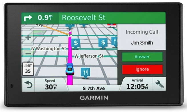 Garmin Smartphone Notifications and Bluetooth