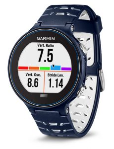 garmin forerunner 630 vertical ratio