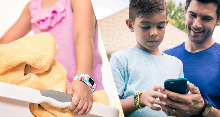 garmin vivofit jr - review and reward kids activity tracker