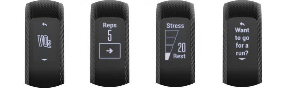 garmin vivosmart 3 features