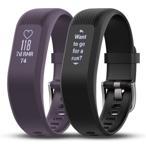Garmin Vivosmart 3 Activity Tracker - Purple and Black