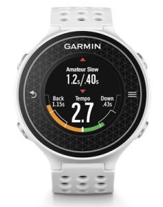 Garmin Approach S6 - Tempo Training