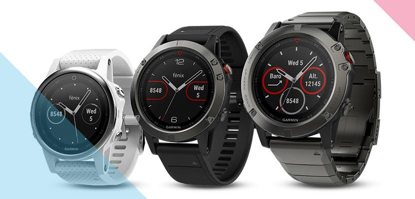 Garmin Fenix Watch Range