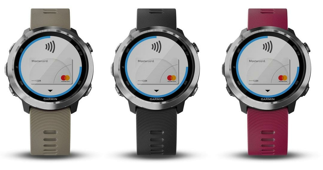 garmin forerunner 645 music contactless payments