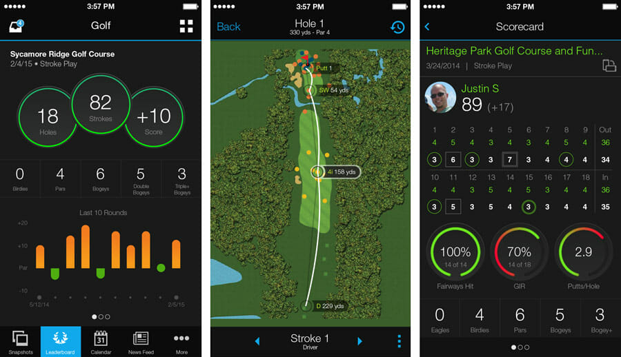 Garmin Connect Golf