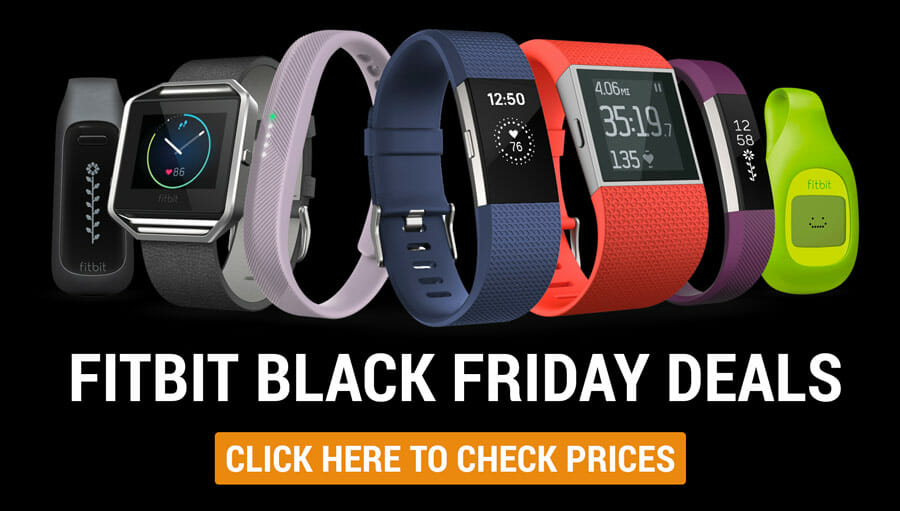 best fitbit black friday cyber monday deals