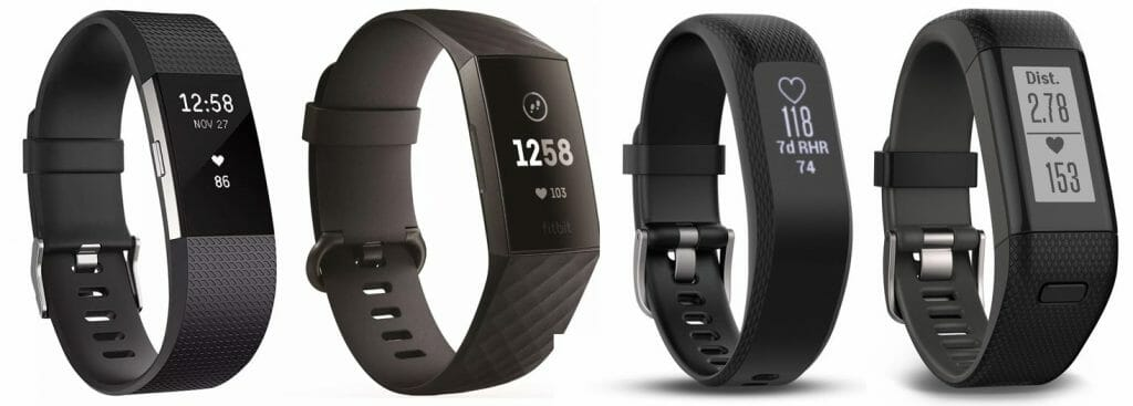 fitbit vs garmin activity trackers