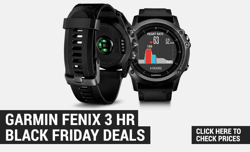 garmin fenix 3 hr black friday