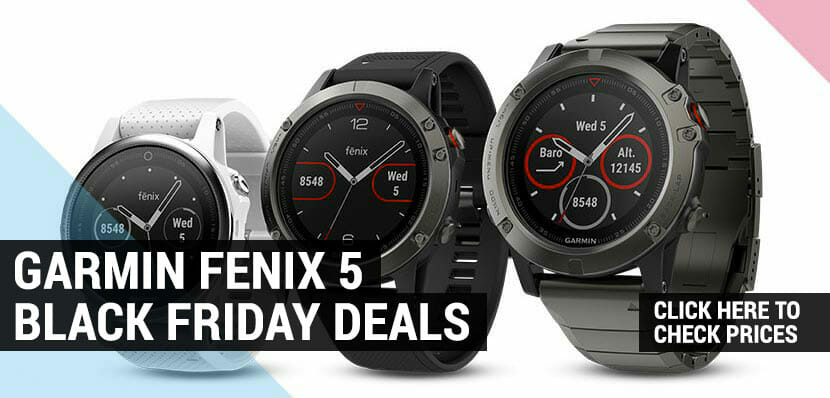 garmin fenix 5 black friday and cyber monday deals