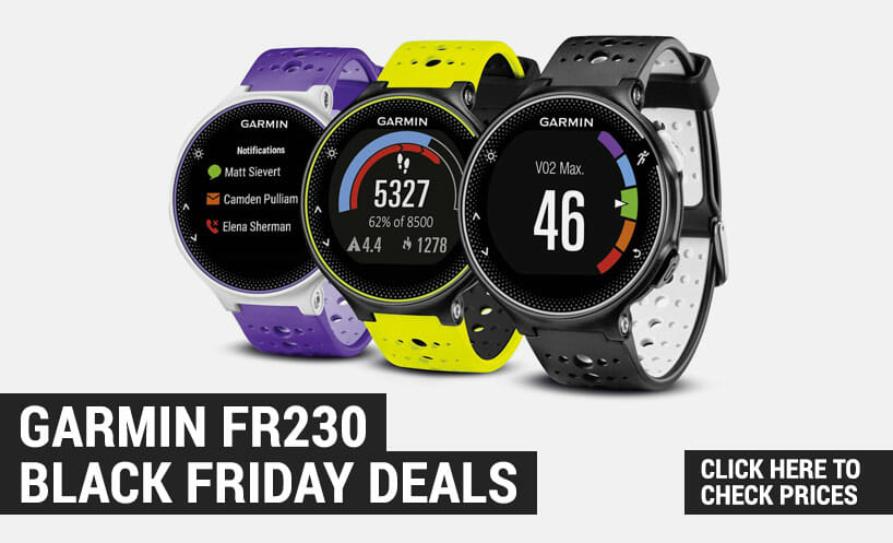 best garmin forerunner 230 black friday deals