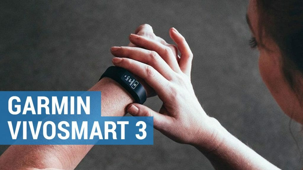 garmin vivosmart 3 adult fitness tracker