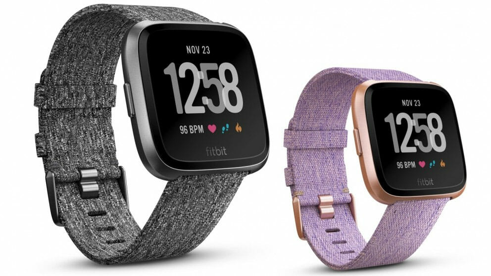 Fitbit Versa Best priced smartwatch activity tracker