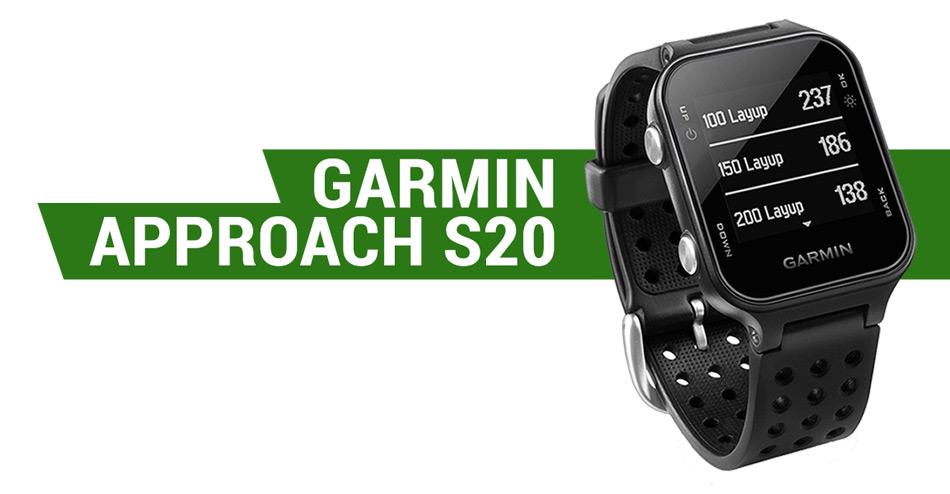 garmin approach s20 gps golf watch