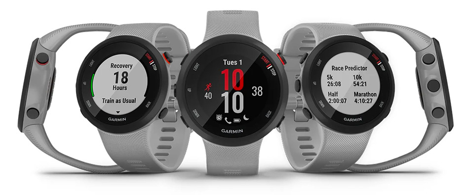 review of the Garmin Forerunner 45 Plus
