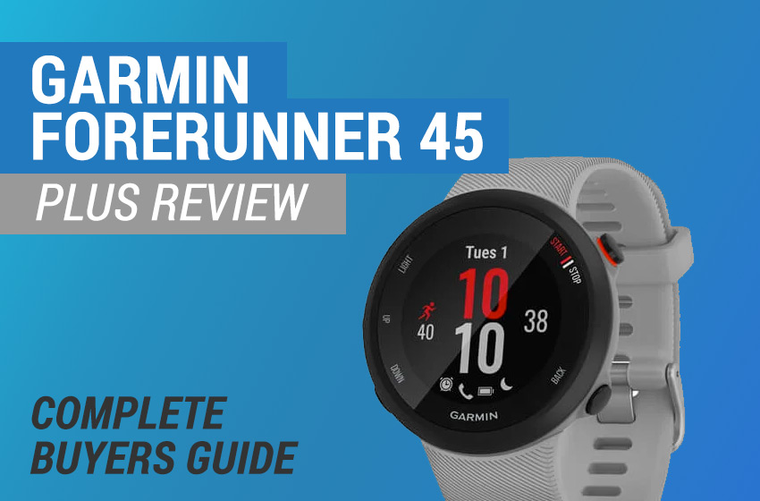 garmin forerunner 45 plus review