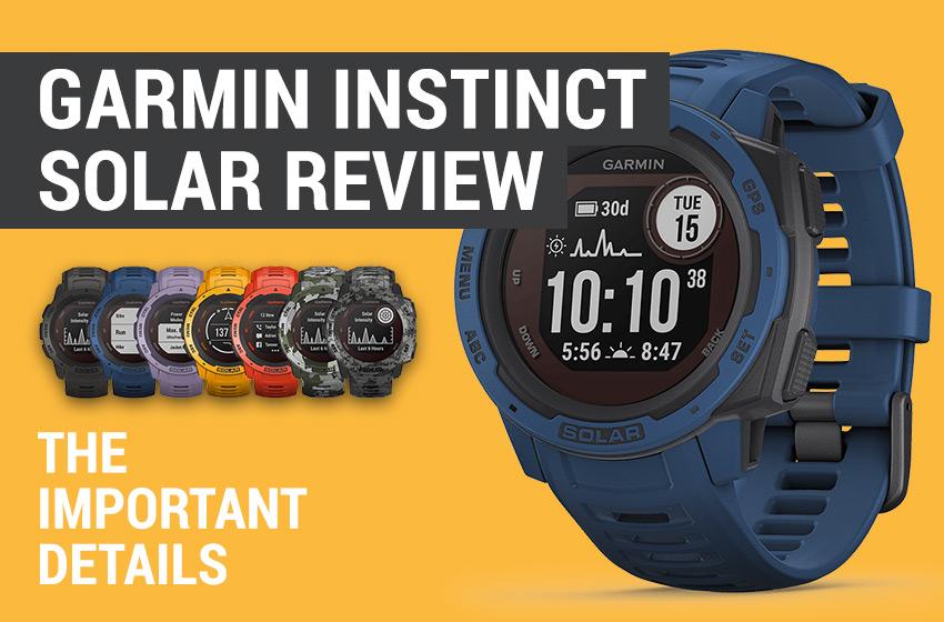 Garmin Instinct Solar Review
