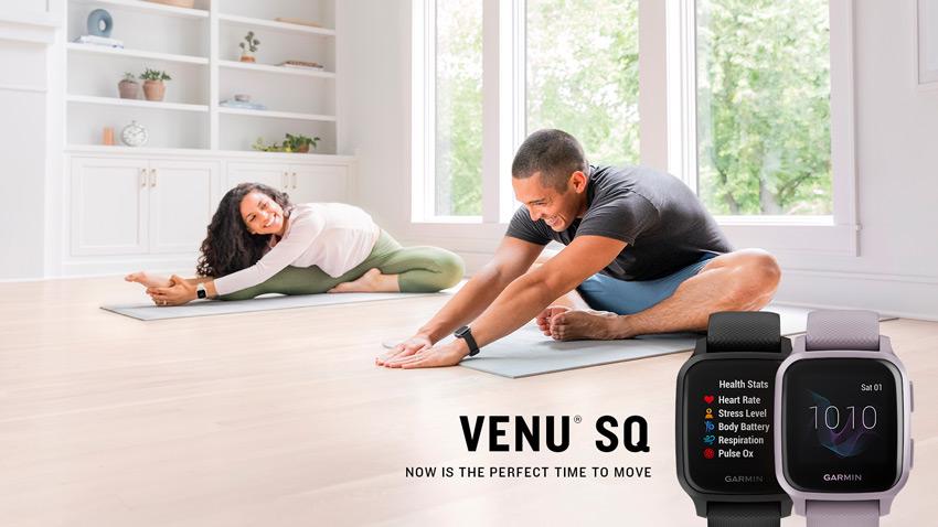 garmin venu sq sports watch features
