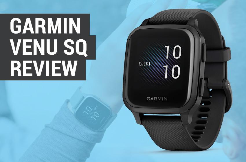 review of the Garmin Venu Sq