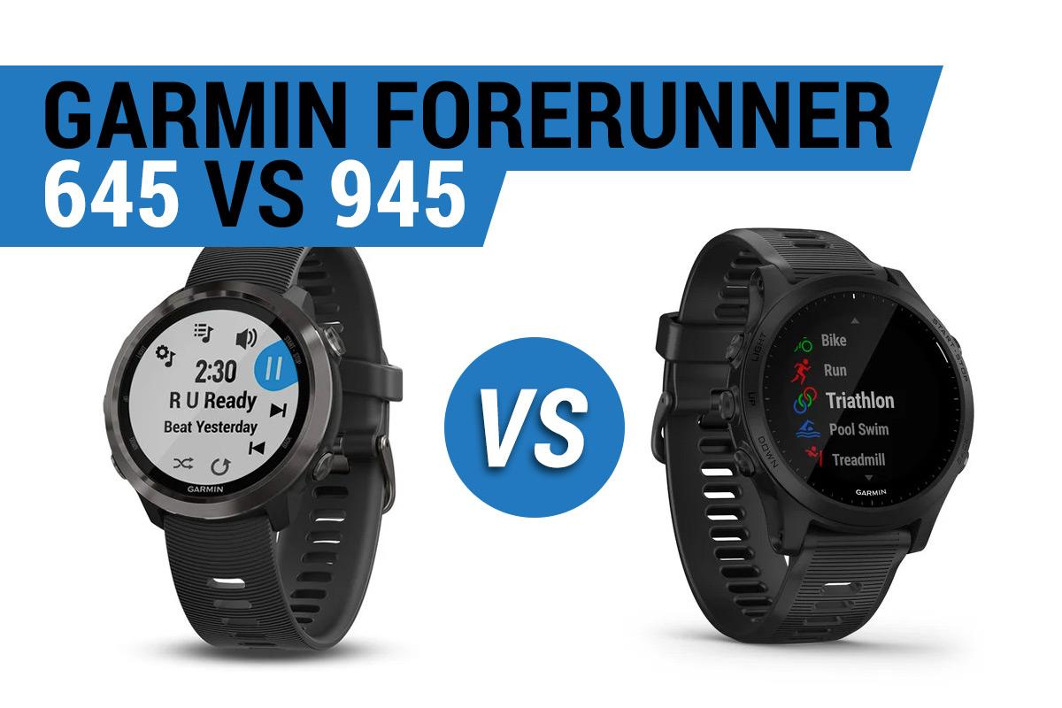 Garmin Forerunner 645 vs 945