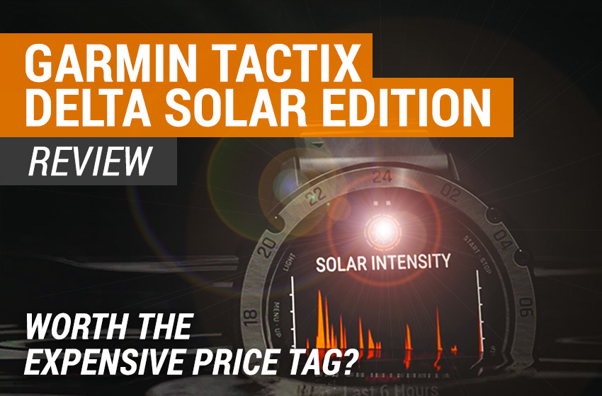 Garmin tactix Delta Solar review
