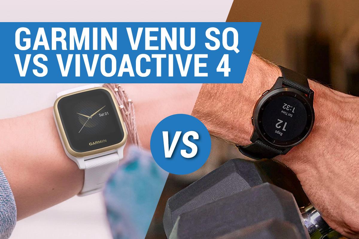 Garmin Venu vs Vivoactive 4