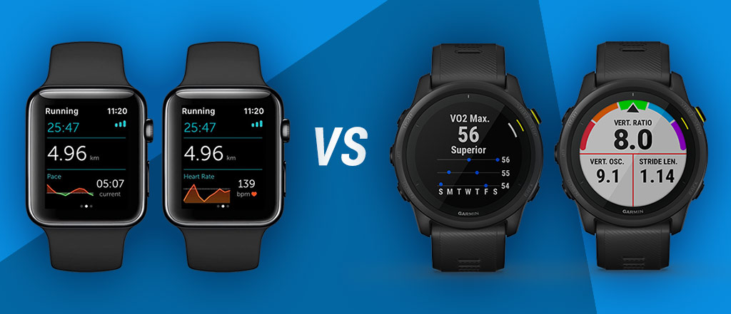 apple watch vs garmin running watch