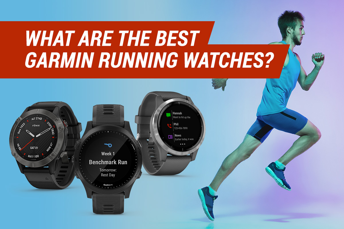what are the best garmin running watches