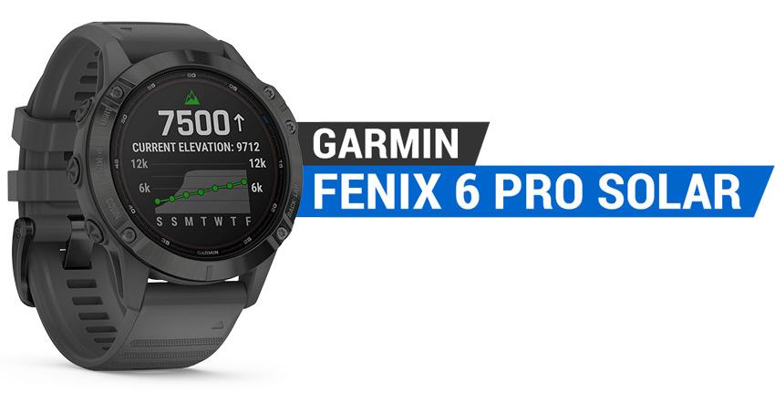 garmin Fenix 6 Pro Solar