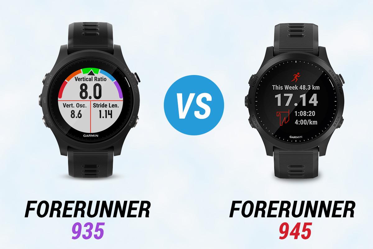 garmin forerunner 935 vs 945