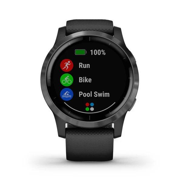 Garmin Vivoactive 4 has built in swimming apps