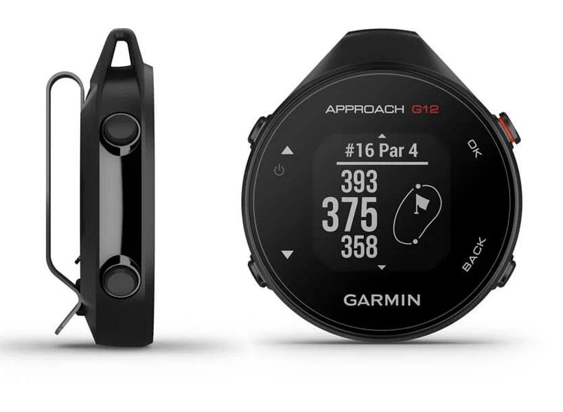 Garmin Approach G12 clip on golf gps