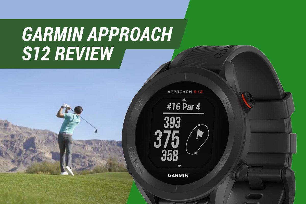 garmin approach s12 golf watch review