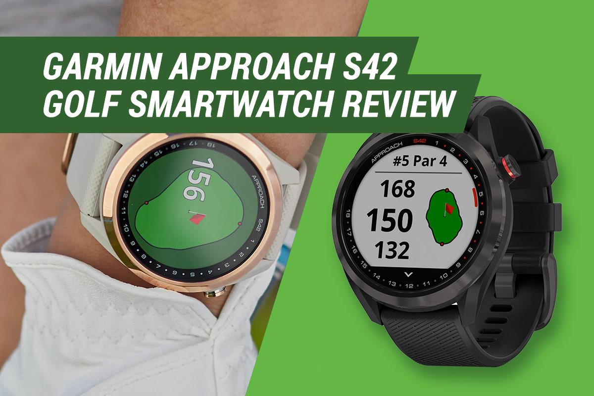 garmin approach s42 golf smartwatch review