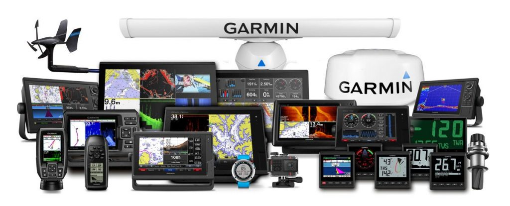 Garmin marine gps products vs raymarine